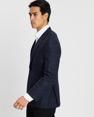 Gieves and Hawkes - Cashmere Formal Jacket - Suits & Blazers (Navy) Cashmere Formal Jacket
