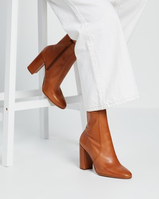 ALDO - Aurellie Flex Boots - Boots (Cognac) Aurellie Flex Boots