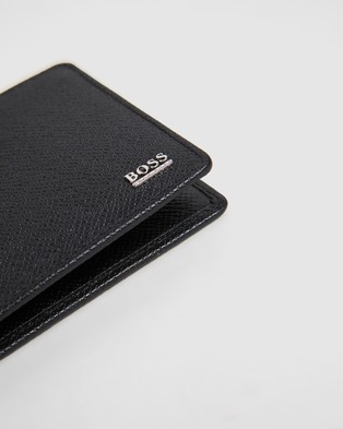 BOSS Signature Leather Wallet - Wallets (Black)
