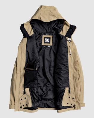 DC Shoes Mens Servot Snow Jacket - Coats & Jackets (Kelp)