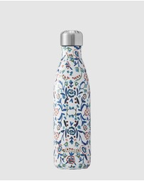 S'well - Insulated Bottle Flora Collection 500ml Blue Cornflower