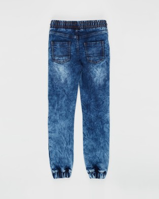Cotton On Kids Chad Jogger Pants   Kids Teens - Pants (Ocean Blue Wash)