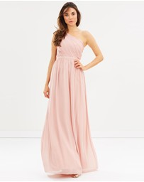 Esther - Zinnia One Shoulder Dress