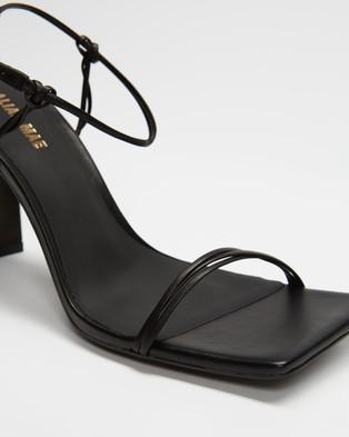 Alias Mae Camellia - Sandals (Black Leather)