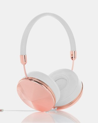 Frends Taylor Rose Gold - Tech Accessories (Rose Gold & White)