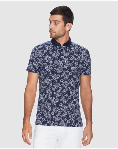 Yd. Nelson Polo Navy