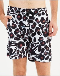 Saturdays NYC - Timothy Water Floral Boardshorts