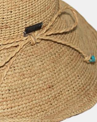 BeforeDark Hawaii Raffia Sou'wester - Hats (Natural)