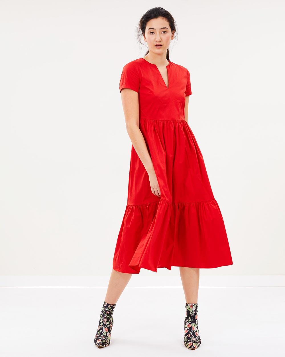 MAX & Co. Incontro Dress Dresses Red Incontro Dress
