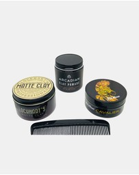 The Pomade Shop - The Pomade Shop Essential Clay Pack