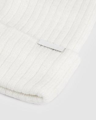 ONEBYONE Bobby Beanie - Headwear (White)