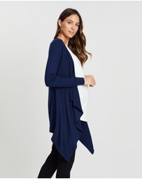 Angel Maternity - Maternity Waterfall Bamboo Long Cardigan