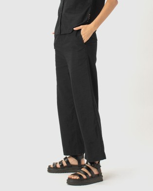 Cools Club Easy Pants - Pants (Black)