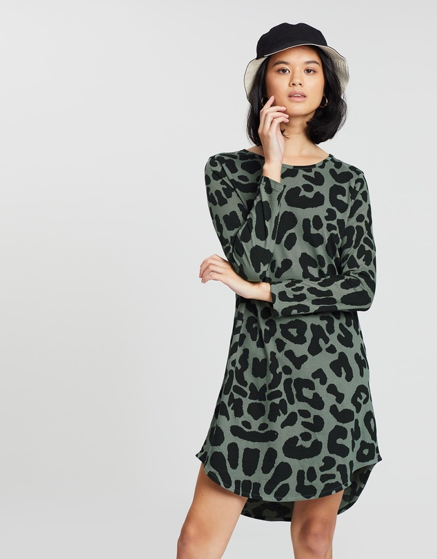 42728c69 Bronx Long Sleeve Dress by Cartel & Willow Online | THE ICONIC ...