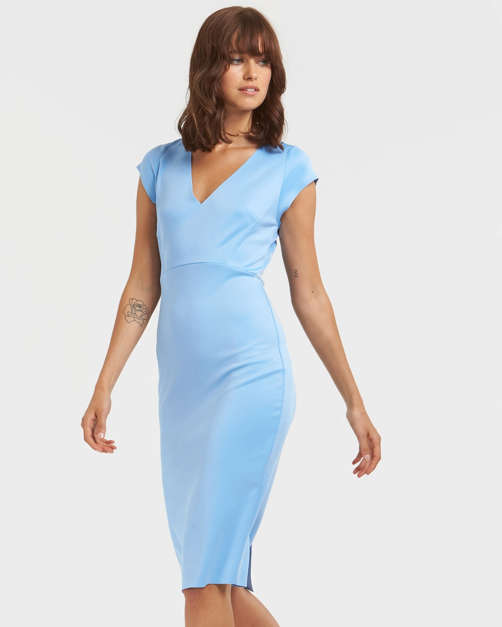 Socialight Blue Franny Dress
