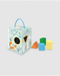 Sassi - Eco Blocks Good Morning Sorting Box & Book Set
