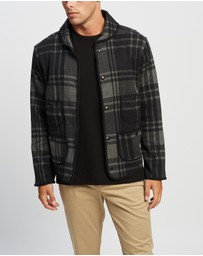 RRL - Long Sleeve Knit Shawl Jacket