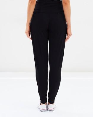 Bamboo Body Softline Slouch Pants - Sweatpants (Black)