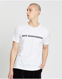 White Mountaineering - Printed T-Shirt