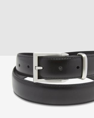 Oxford Arlen Leather Belt - Belts (Black)