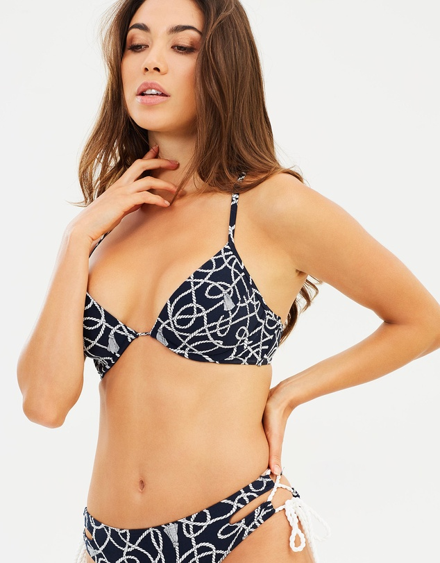 Michael Kors - Lace Up Bikini Top