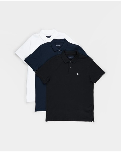 Abercrombie & Fitch - 3-Pack Fall SS Polo