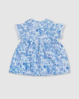 Amber Days Kuu Dreaming Dress Printed Dresses Blue
