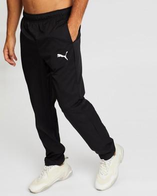 Puma Active Woven Pants Op - Sweatpants (Puma Black)