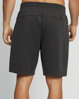 2XU Commute 9 Inch Shorts Charcoal Marle & Black 9-Inch