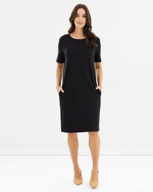 Lincoln St – The Boxy Dress Black