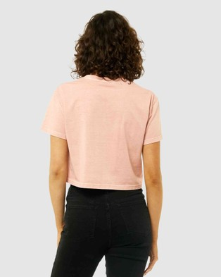 Rusty Rusty Essentials Ember Crop Tee - Short Sleeve T-Shirts (RSC)