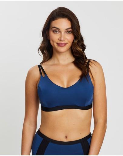 Aqua Blu Australia Graphite D/dd Cup Bikini Top