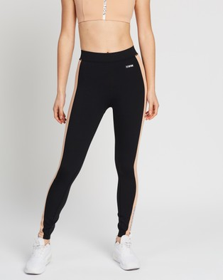P.E Nation Exceed Drive Leggings - Full Tights (Black)
