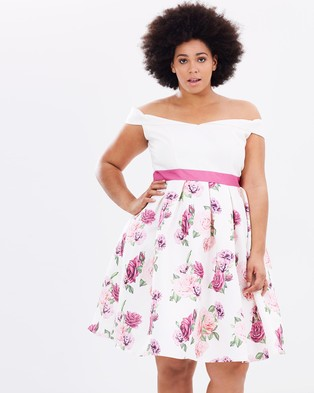 Chi Chi Curve – Cici Dress Multicoloured