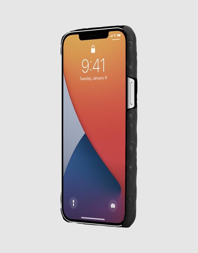Women iPhone 12 Pro Max - Leather Slim Wrap Case