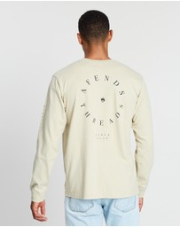 Afends - Established Retro Fit Long Sleeve Tee