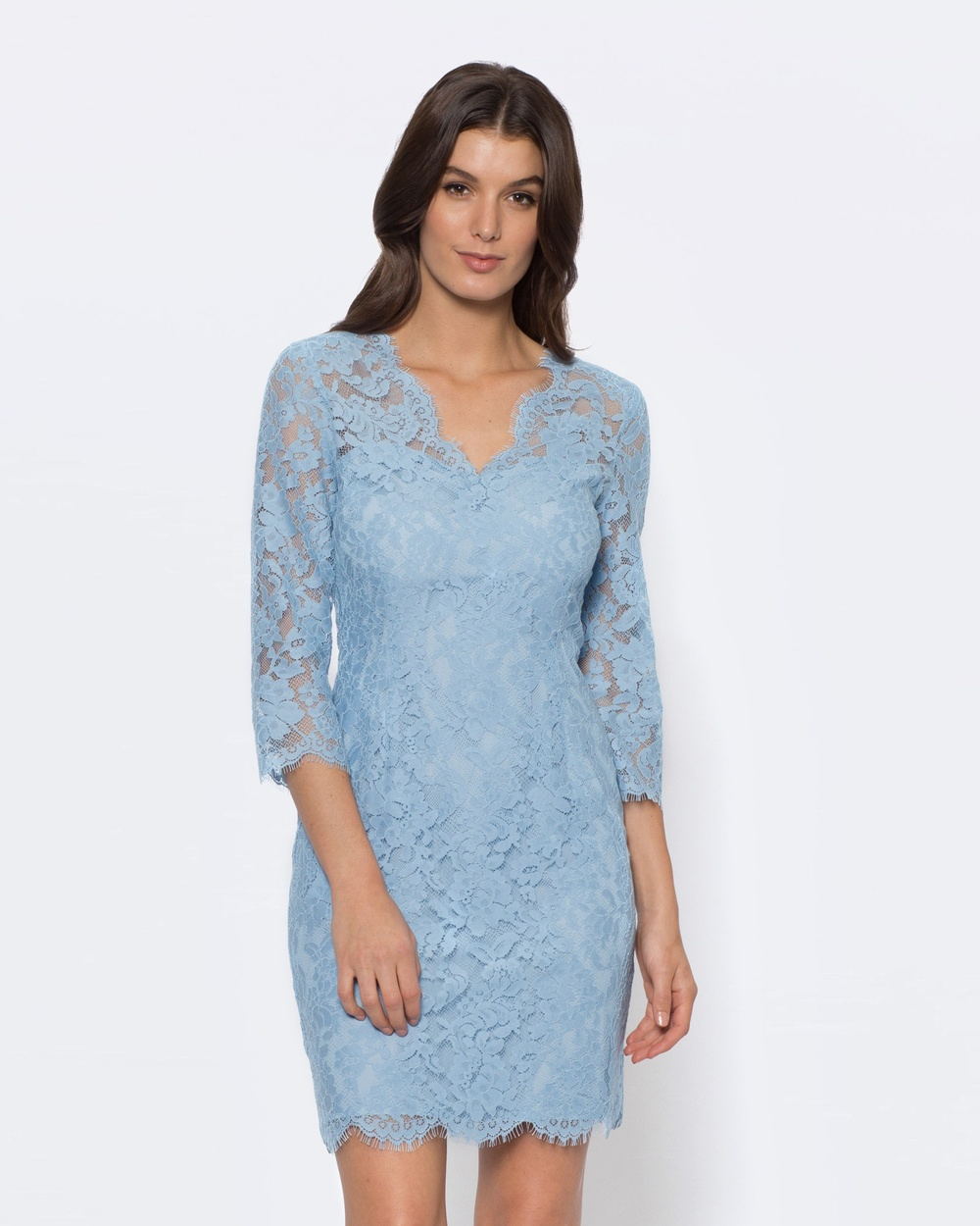Alannah Hill The Little Lace Dress Dresses blue The Little Lace Dress