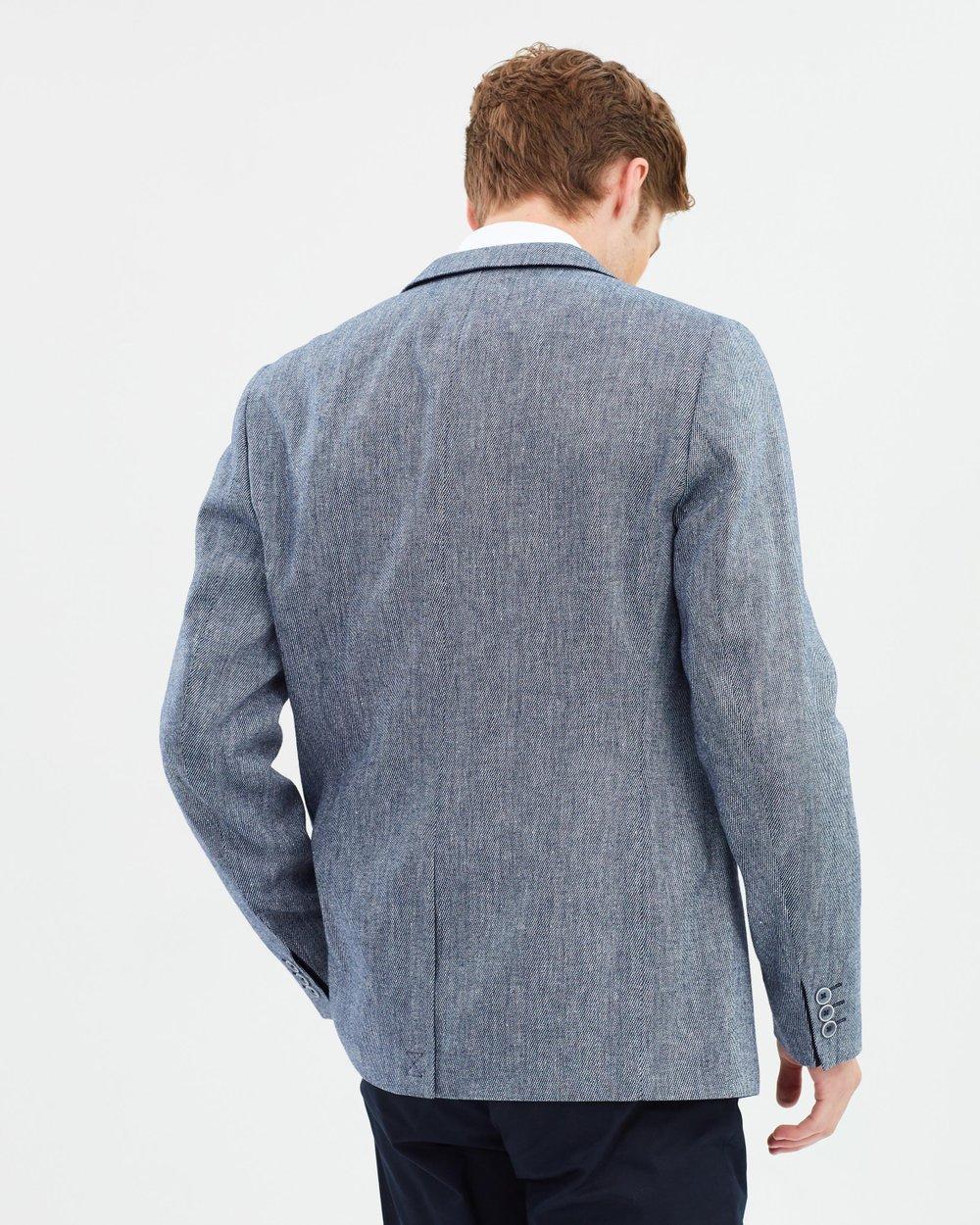 55c5e489c Hines Slim Fit Linen Blend Blazer by Ted Baker Online