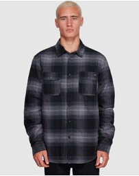Billabong - Nevermind Long Sleeve Flannel Shirt