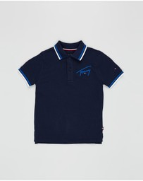 Tommy Hilfiger - SS Signature Tommy Polo - Kids