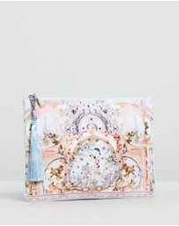 Camilla - Small Canvas Clutch