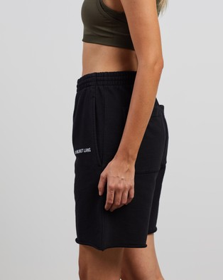 Helmut Lang Logo Sweatshorts Sweats Black