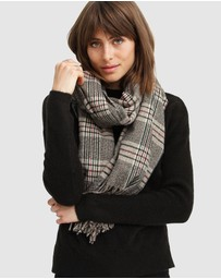 Belle & Bloom - Aspen Plaid Scarf