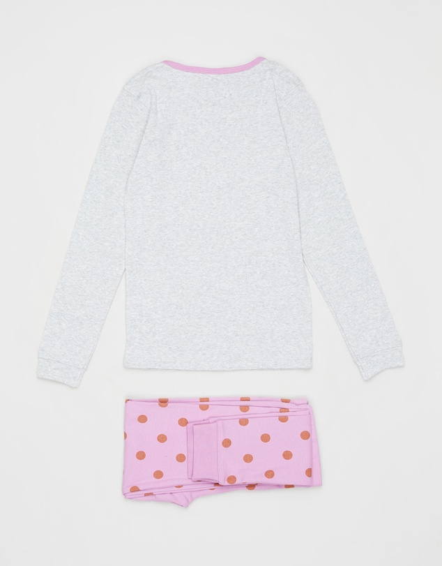 Cotton On Kids - Alicia Long Sleeve PJ Set - Kids-Teens