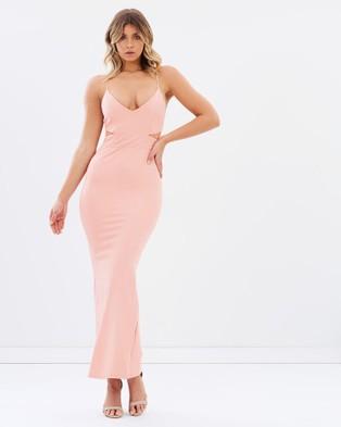 Miss Holly – Brisk Dress – Bridesmaid Dresses (Pink)