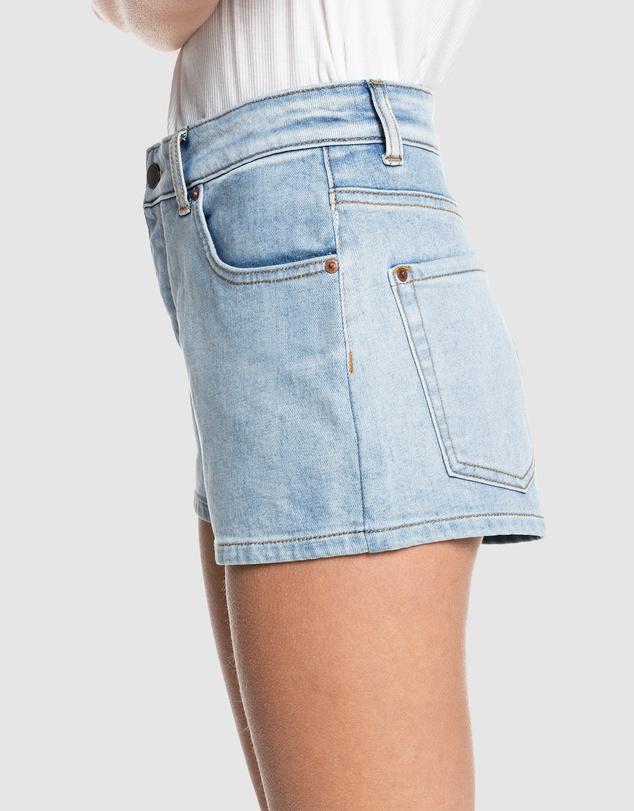 Women Womens Call Me Back Denim Shorts