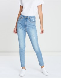 DRICOPER DENIM - High-Waisted Light Jeans