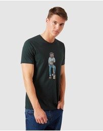 French Connection - Lumberjack Bear T Shirt