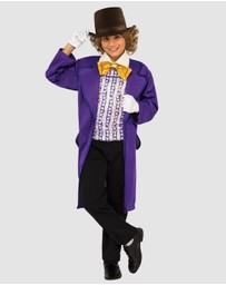Rubie's Deerfield - Willy Wonka Deluxe Costume - Kids
