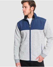 Quiksilver - Mens Keller Mix Zip Jumper
